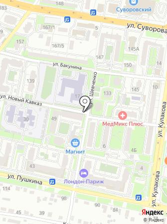 Ледяной дом на карте