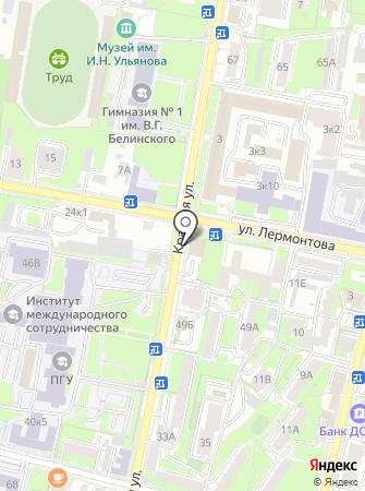ПРОМТЭК на карте