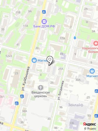 Мокко на карте