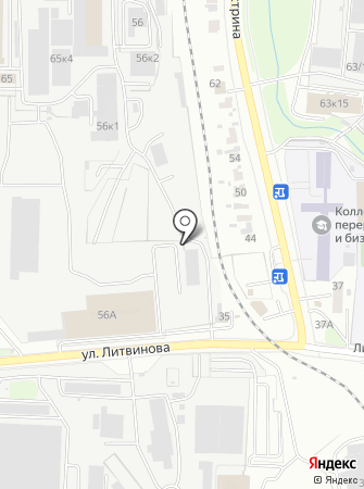 Ломпром на карте