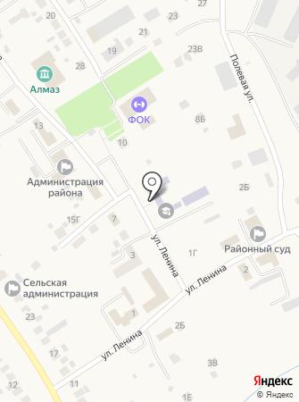 Лямбирская средняя общеобразовательная школа №1 на карте