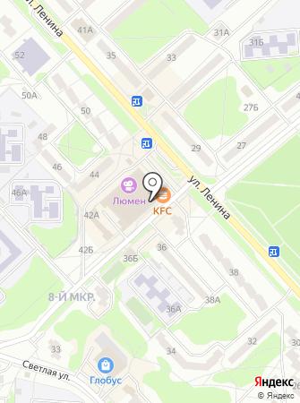 Блокбастер на карте