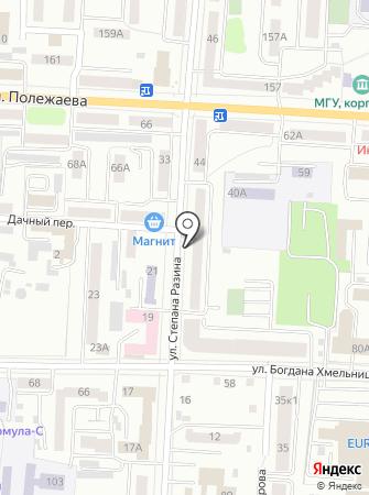 КрепМастер на карте