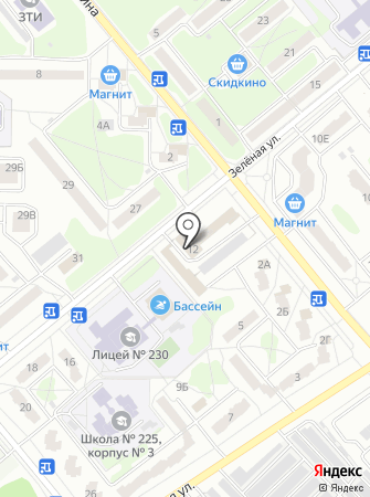 Отдел Военного комиссариата Пензенской области по г. Заречному на карте