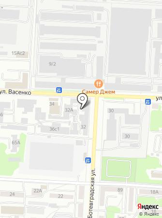 КЭМЗ на карте