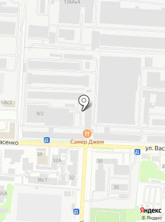 Саранский приборостроительный завод, ПАО на карте