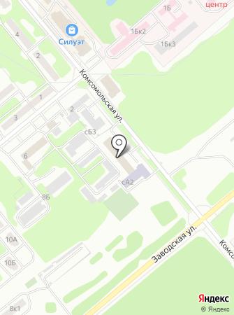 Центр занятости населения г. Заречного на карте
