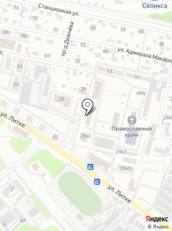 МРЭО ГИБДД Управления МВД России по Пензенской области на карте