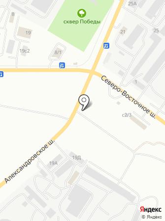 УниверсалСтрой-М на карте