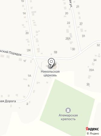 Церковь Николая Чудотворца на карте