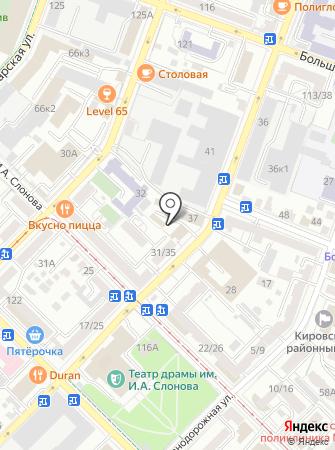 3 отряд ФПС Саратовской области на карте