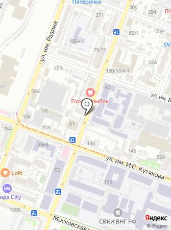 Президент-Агентство, ЗАО на карте