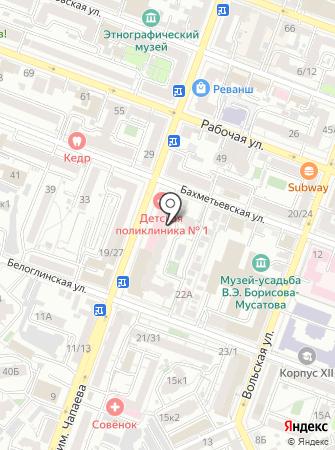 Городской расчетный центр на карте
