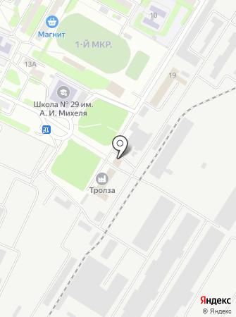 Тролза, ЗАО на карте