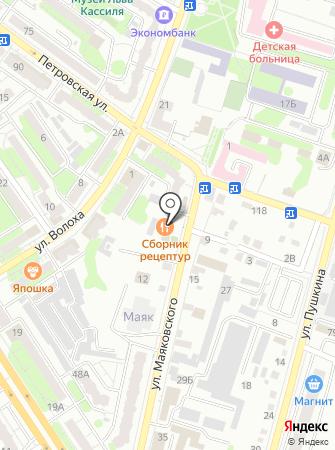 Адвокатский кабинет Иванова С.А. на карте