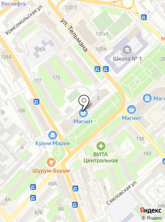 АстреКом на карте