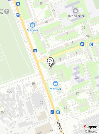 Мастерская по ремонту обуви на проспекте Строителей на карте