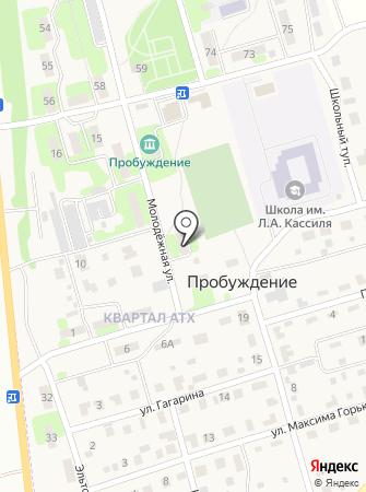 Покровск-тепло на карте