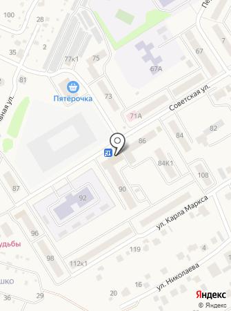 Чебоксарский районный отдел судебных приставов на карте