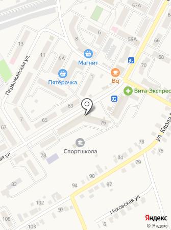 Йола-маркет на карте