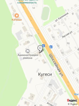 Банкомат, Татфондбанк на карте