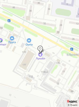АЗС Лукойл-Волганефтепродукт на карте