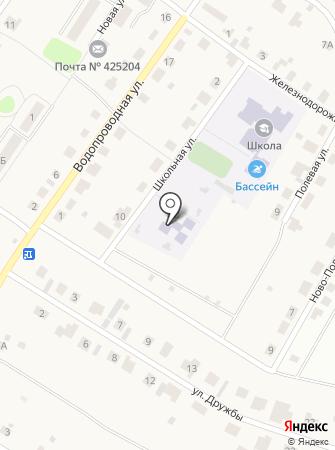 Новоарбанский фельдшерско-акушерский пункт на карте