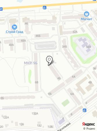 Васильева-36, ТСЖ на карте