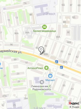 Магазин мясной продукциии на карте