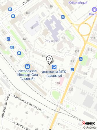 МТК на карте