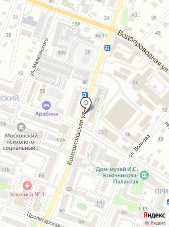Альфа-Транс на карте