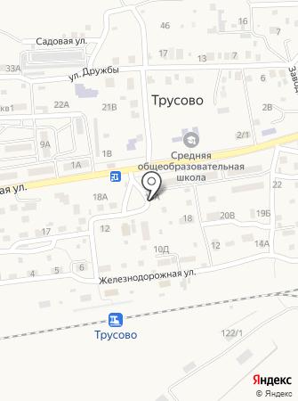 Рублевка на карте