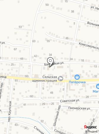 Мелия на карте