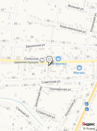 Кучергановское потребительское общество на карте