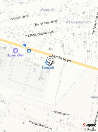 АстРем на карте
