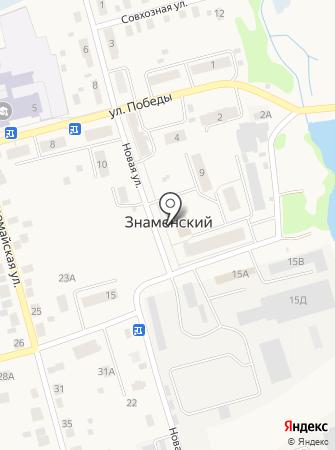 Собрание депутатов Знаменское сельское поселение на карте