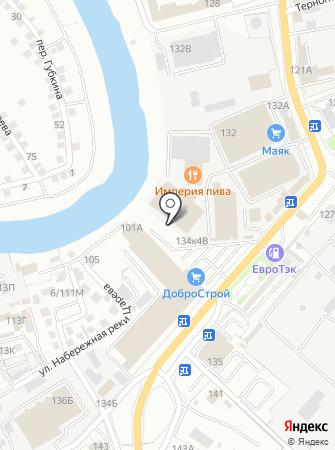 Метков на карте