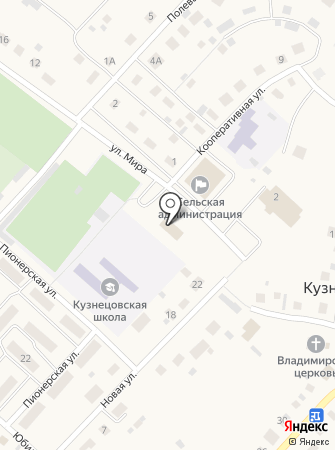 Семёновский на карте