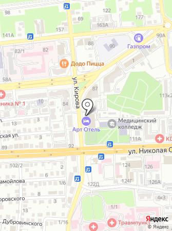 Кулинария №1 на карте