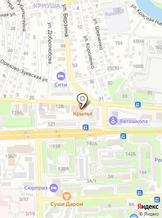 ВСК на карте