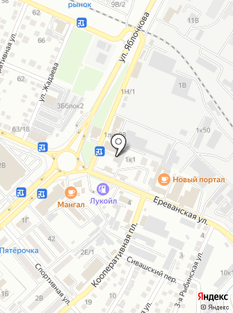 ИзоМакс на карте