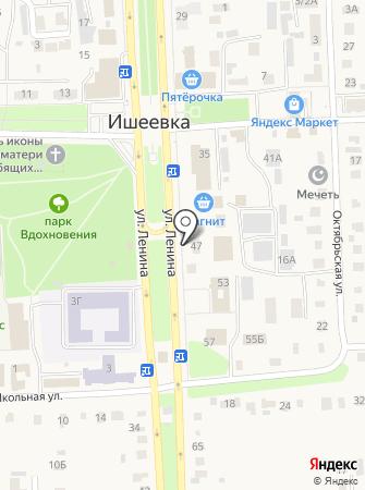 Отдел судебных приставов Ульяновского района на карте