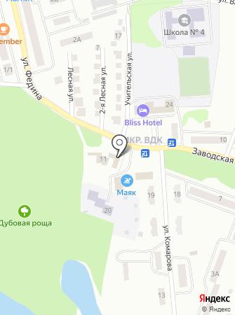 Домостройка на карте