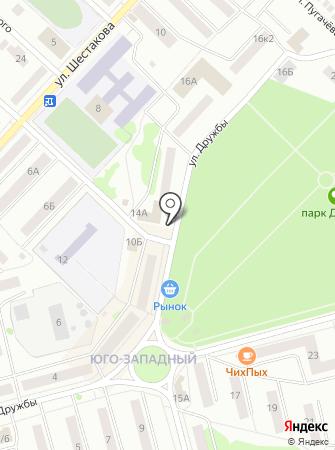 Швейно-Волжская трикотажная фабрика на карте