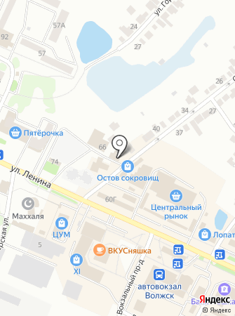 Ласка на карте