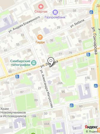 Партнеры на карте