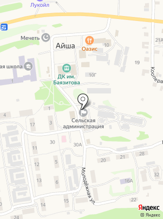 Многофункциональный центр предоставления государственных и муниципальных услуг в Республике Татарстан, ГБУ на карте
