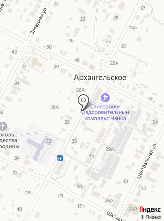 Архангельские окна на карте