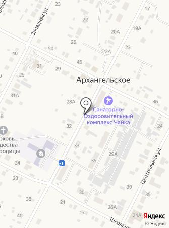 У Танюши на карте
