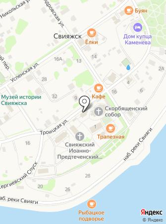 Церковь Святой Троицы на карте